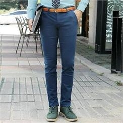STYLE FOR MEN - Straight-Cut Pants