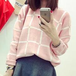 Eva Fashion - Check Sweater