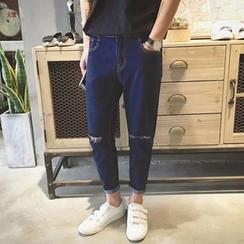 Etoile - 仿旧修身牛仔裤