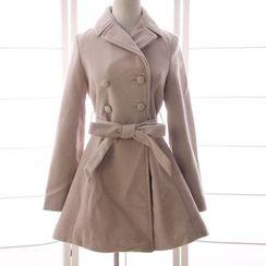 Reine - 双襟呢子大衣