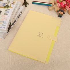 Coco Store - Smiley Face Print File Organizer