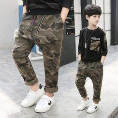 Pegasus - Kids Camo Pants