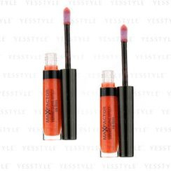 Max Factor 蜜絲佛陀 - Vibrant Curve Effect Lip Gloss - # 13 In The Spotlight (Duo Pack)