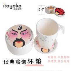 itoyoko - 印花杯墊
