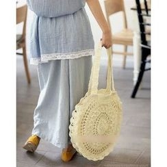 Trava - Straw Shoulder Bag