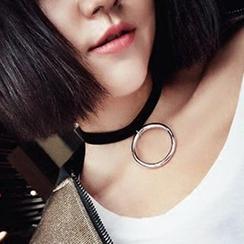 True Glam - 戒指貼脖項鏈