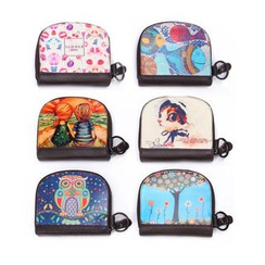 Ausqi - Kids Printed Coin Purse