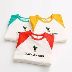 Seashells Kids - Kids Print Long Sleeve T-Shirt