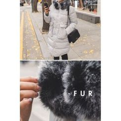 migunstyle - Faux-Fur Padded Jacket