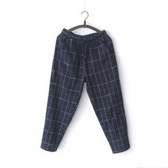 Bonbon - Plaid Harem Pants