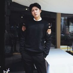 MRCYC - Embroidery Feather Pullover