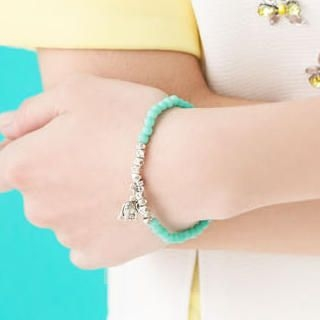 Cuteberry - Beaded Elephant Bracelet