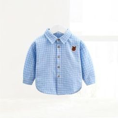 ciciibear - Kids Check Long-Sleeve Shirt