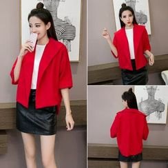 Coolvibe - Elbow-Sleeve Open-Front Jacket