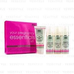 Mama Mio - Your Pregnancy Essentials Kit: Tummy Rub Butterand#8232 30ml + Facial Wash 30ml + Pregnancy Boob Tube 30ml + Lucky Legs 30ml