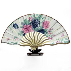 Wylon Arts & Crafts - Chinese Style Folding Fan
