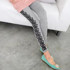 59 Seconds - Rose Print Leggings