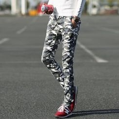 Bay Go Mall - Camouflage Skinny Pants
