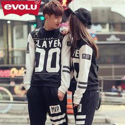 Evolu - Printed Pullover