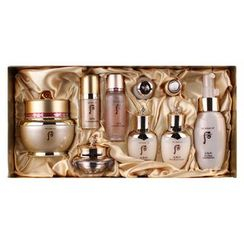 The History of Whoo - Bichup Ja Yun Cream Special Set: Ja Yun Cream + Ja Seung Essence + Bichup Essence + Balancer + Lotion + Eye Cream + Gold Ampule + Ampoule Oil + Cleansing Foam