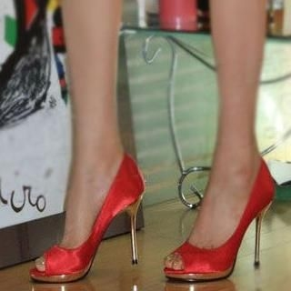 77Queen - Peep-Toe Stilettos