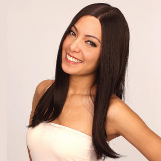 LeSalonWigs - Long Lace Front Full Wig - Straight