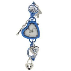 N:U - Not the Usual - Heart-Shaped Charm Wrist Watch