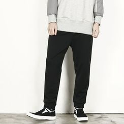 Rememberclick - Elastic-Waist Sweat Pants