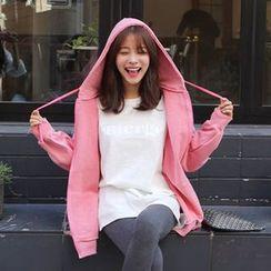 Seoul Fashion - Colored Oversized Hoodie
