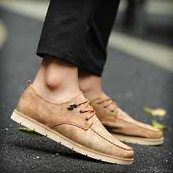 Shino - Lace-Up Oxfords
