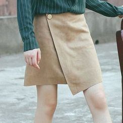 Woodie - Wrap A-line Skirt