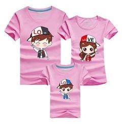 Panna Cotta - Family Matching Short-Sleeve Print T-Shirt