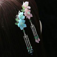 Paparazzi - Flower Hair Clip