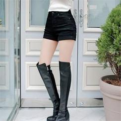 Babi n Pumkin - Cuff-Hem Shorts