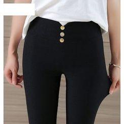 Jenny's Couture - High-Waist Skinny Pants