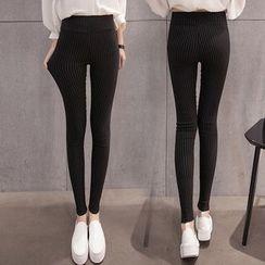 Carabecca - Striped Leggings