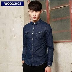 WOOG - Long-Sleeve Denim Shirt