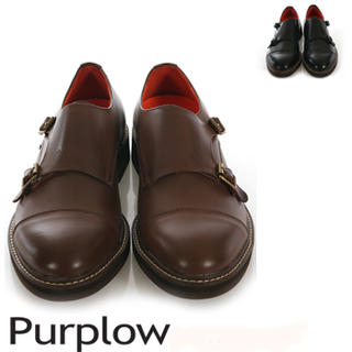 Purplow - Monk-Strap Slip-Ons