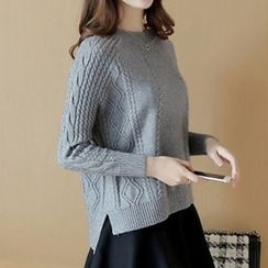 Fashion Street - Cable Knit Sweater