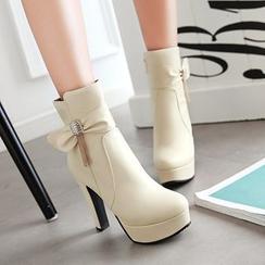佳美 - 高跟短靴