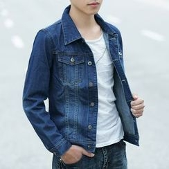 Denimic - Washed Denim Jacket