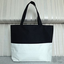 Aoba - Color-Block Shopper Bag