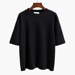 Canton Story - Short-Sleeve Plain T-Shirt