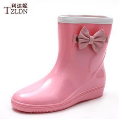 Rivari - Bow Accent Short Rain Boots