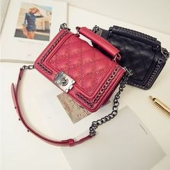 Secret Garden - Chain Flap Shoulder Bag