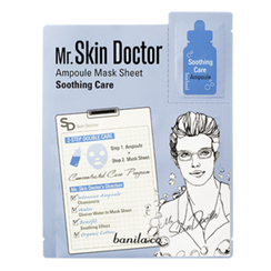 banila co. - Mr Skin Doctor Ampoule Mask Sheet - Soothing Care