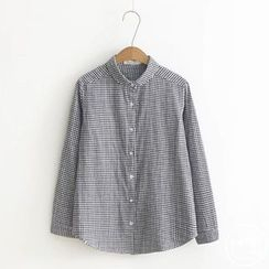 PANDAGO - Round Collar Shirt
