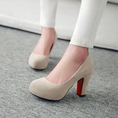 佳美 - 粗跟高跟鞋