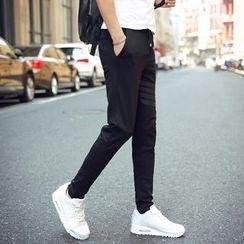 Breeson - Striped Slim-Fit Pants