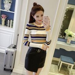 Honeydew - Stripe Knit Top